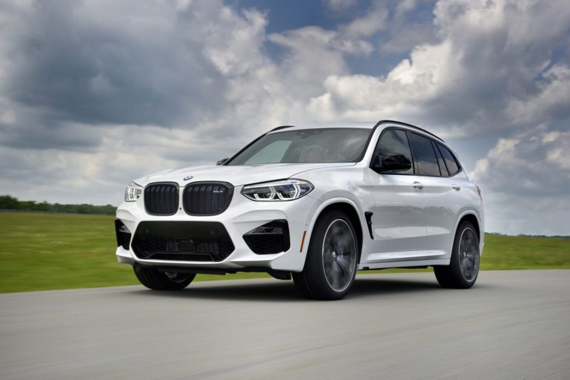 2020 BMW X3 M Competition Alpine White 02 830x554
