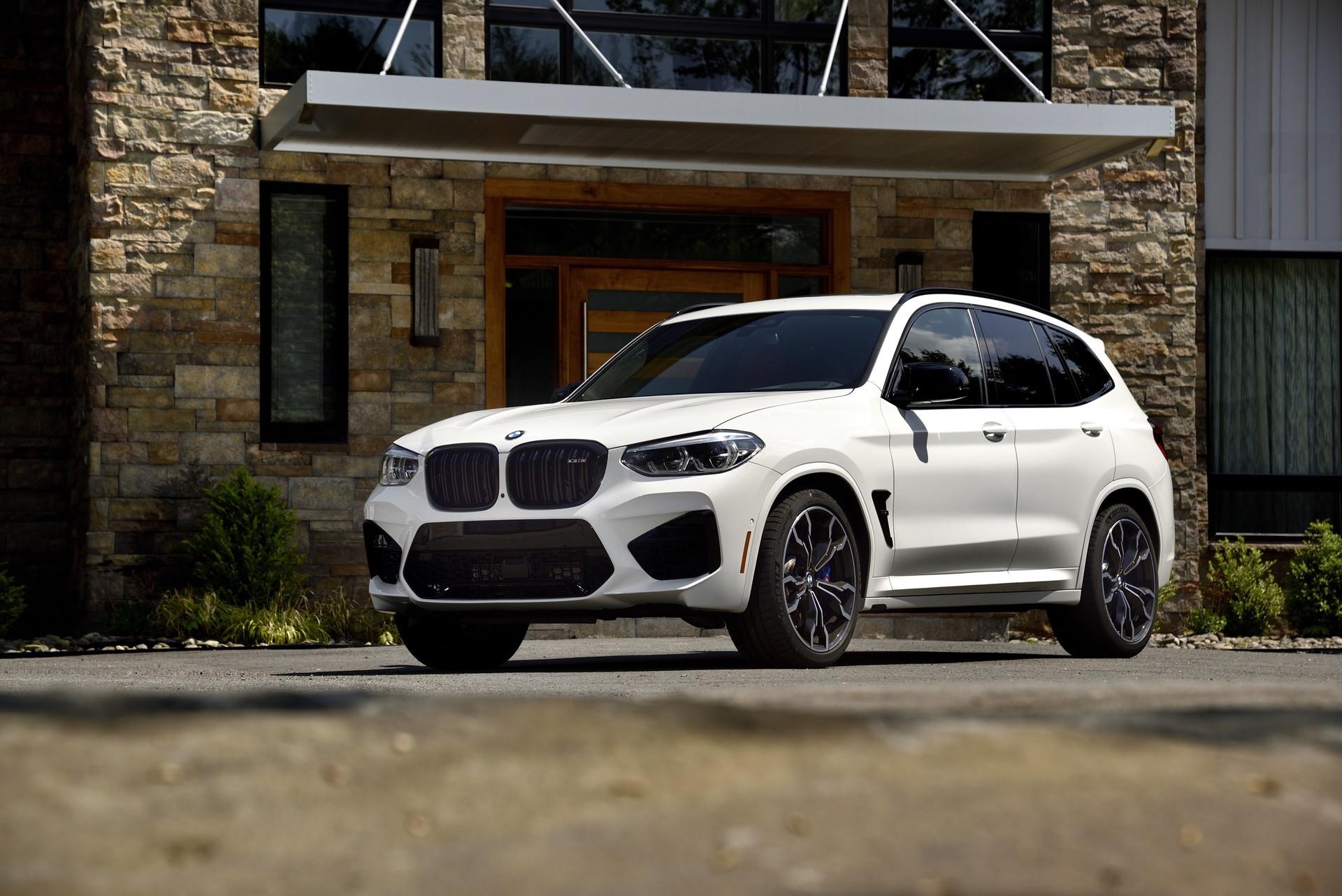 2020 BMW X3 M Competition Alpine White 48
