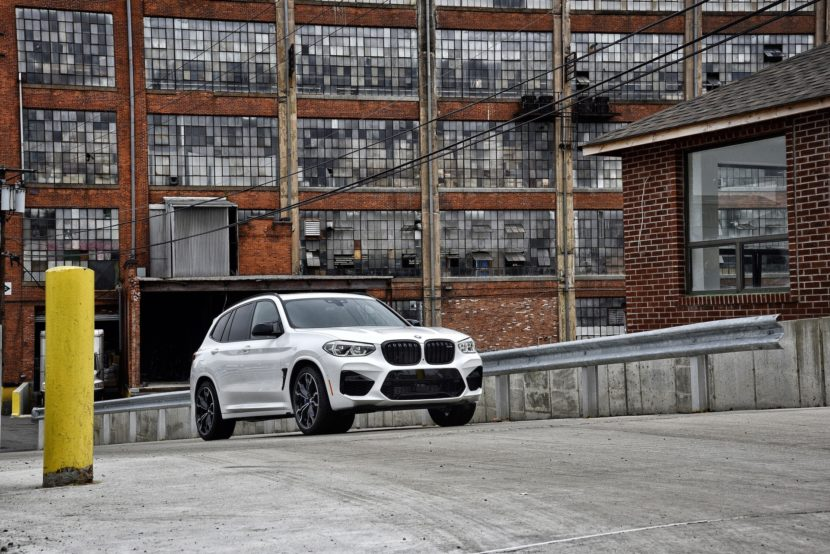 2020 BMW X3 M Competition Alpine White 50 830x554