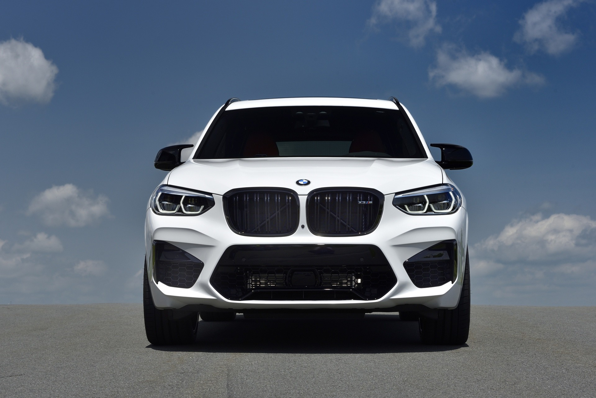 2020 BMW X3 M Competition Alpine White 61