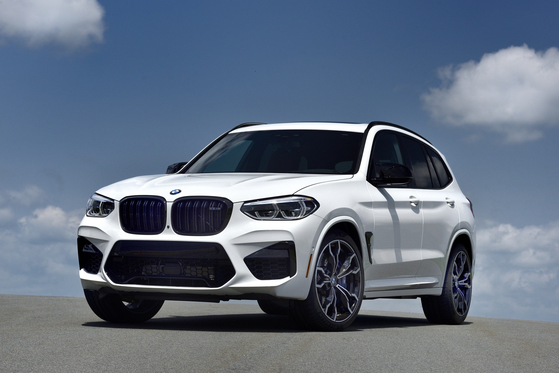 2020 BMW X3 M Competition Alpine White 63