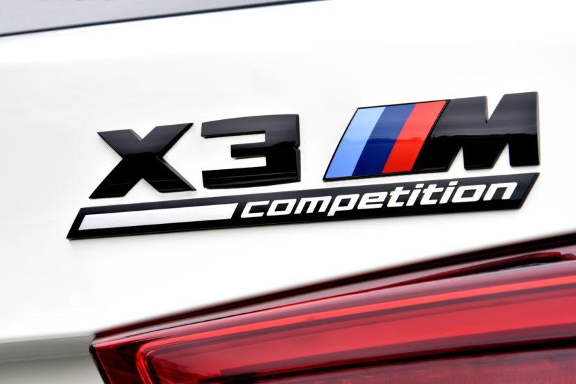 2020 BMW X3 M Competition Alpine White 70 830x554