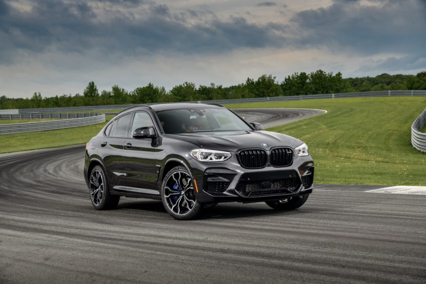 2020 BMW X4 M Competition Sophisto Grey 19 830x553