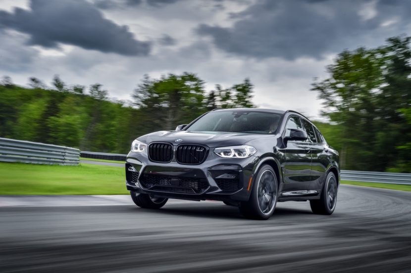 2020 BMW X4 M Competition Sophisto Grey 22 830x553