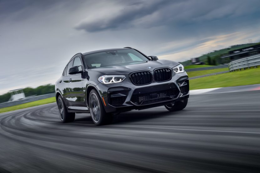 2020 BMW X4 M Competition Sophisto Grey 33 830x553
