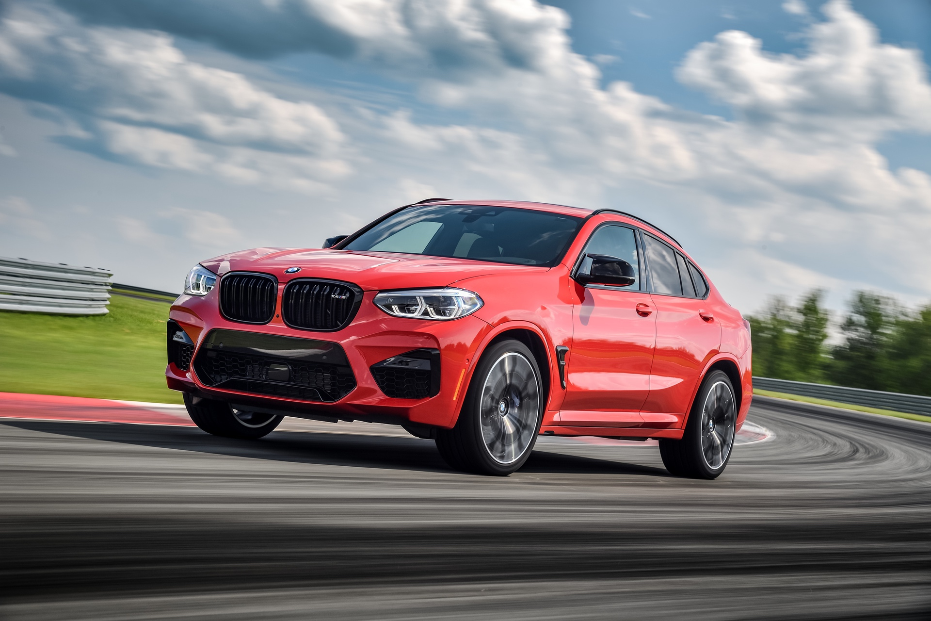 2020 BMW X4 M Competition Toronto Red 26