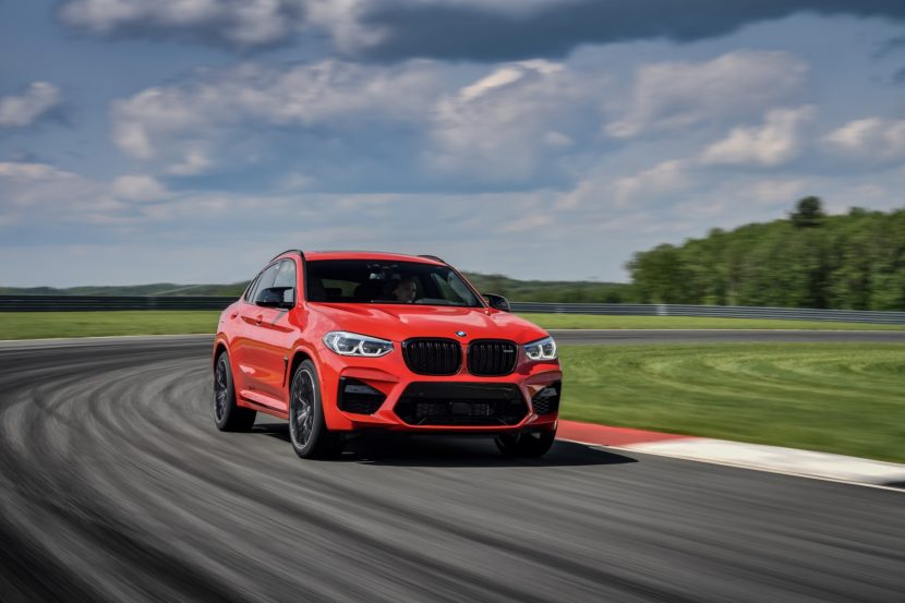 2020 BMW X4 M Competition Toronto Red 39 830x553