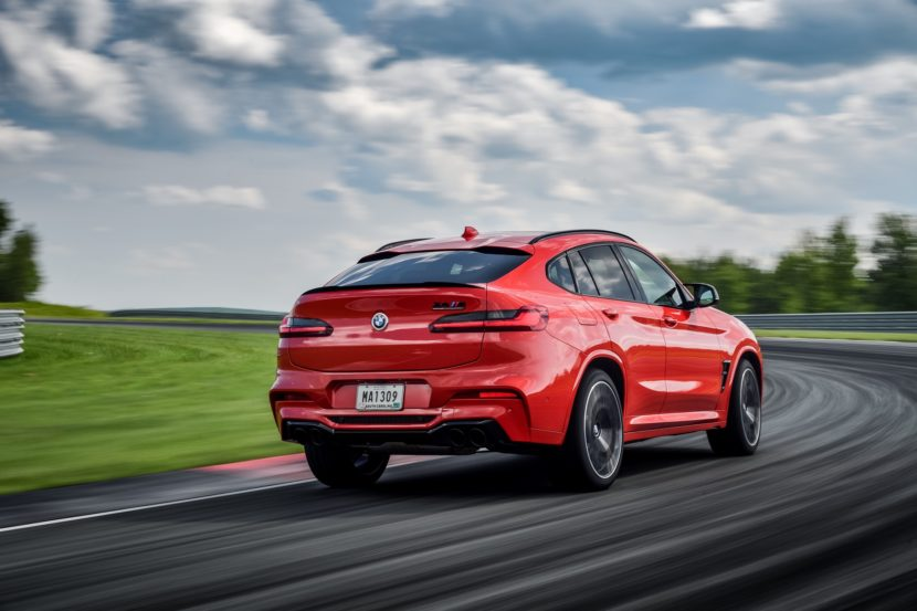 2020 BMW X4 M Competition Toronto Red 45 830x553