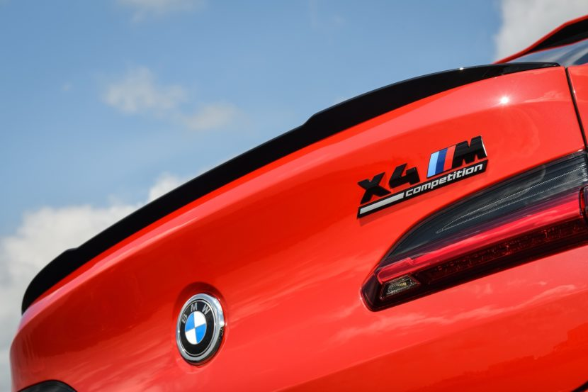 2020 BMW X4 M Competition Toronto Red 72 830x553