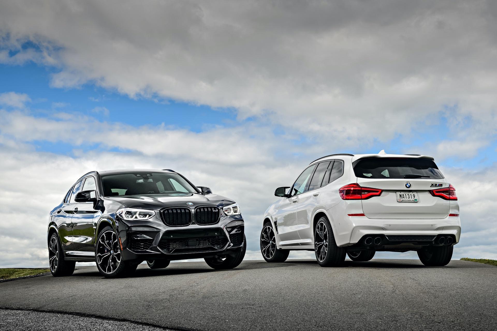 2020 BMW X4 M X3 M photos 01