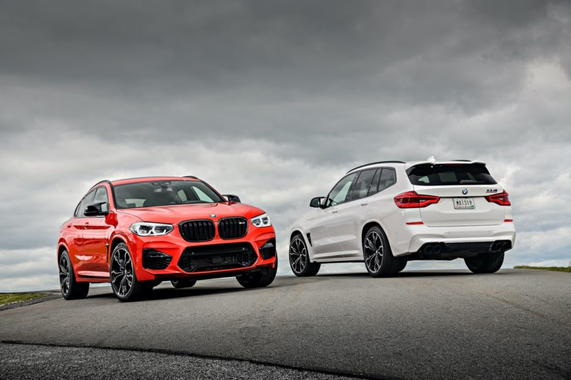 2020 BMW X4 M X3 M photos 04 830x553