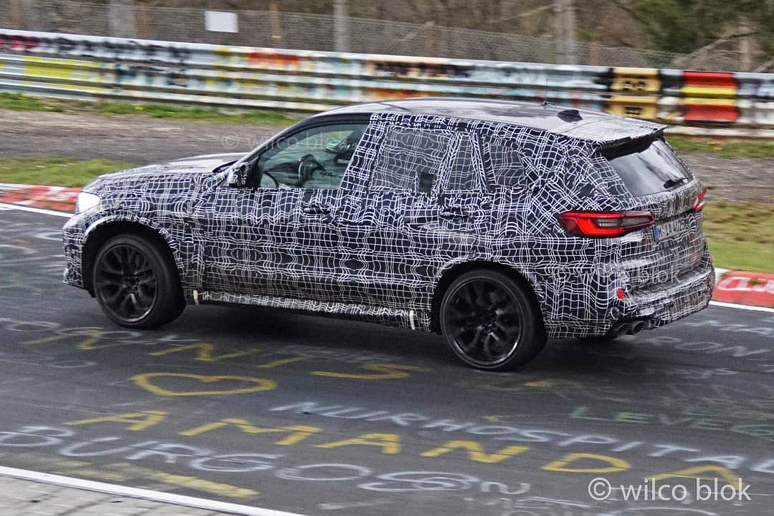 The 2020 Bmw X5 M Gets One Step Closer To Launch Time With Some Laps