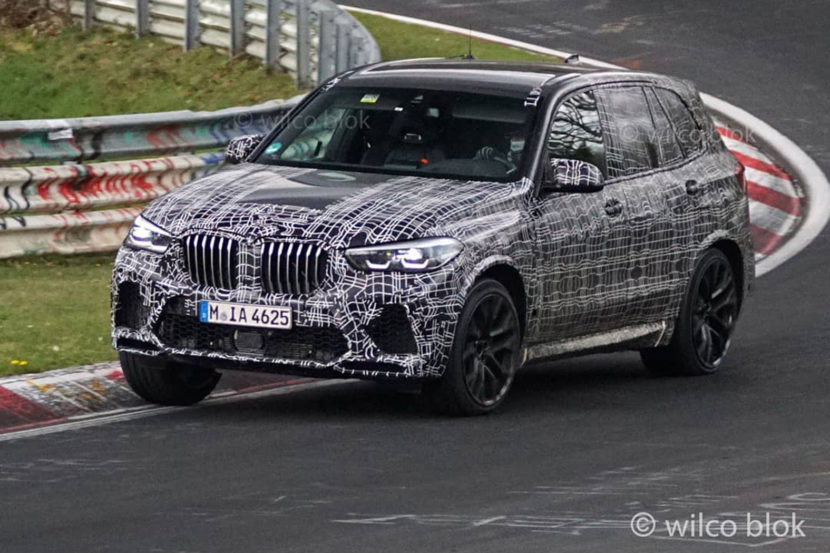Video Bmw X5 M Check Some Of Its Interior While Refueling