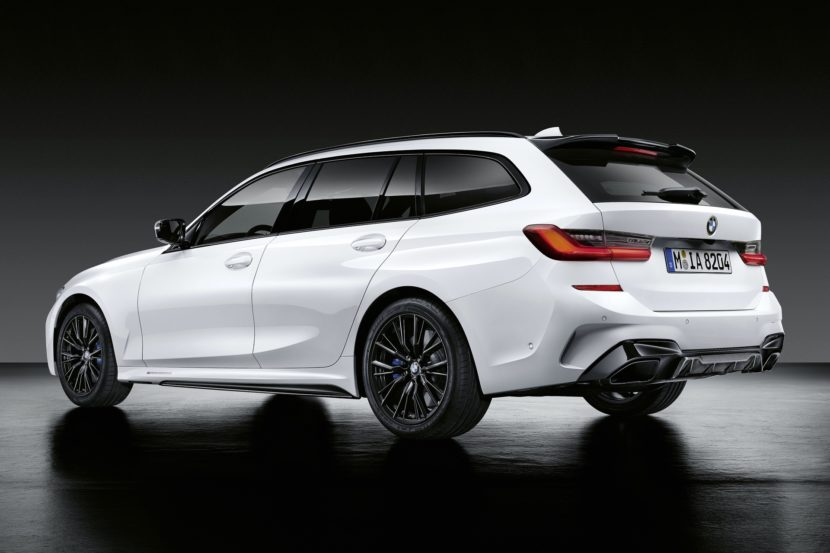 BMW 3 Series Touring with M Performance Parts 12 830x553
