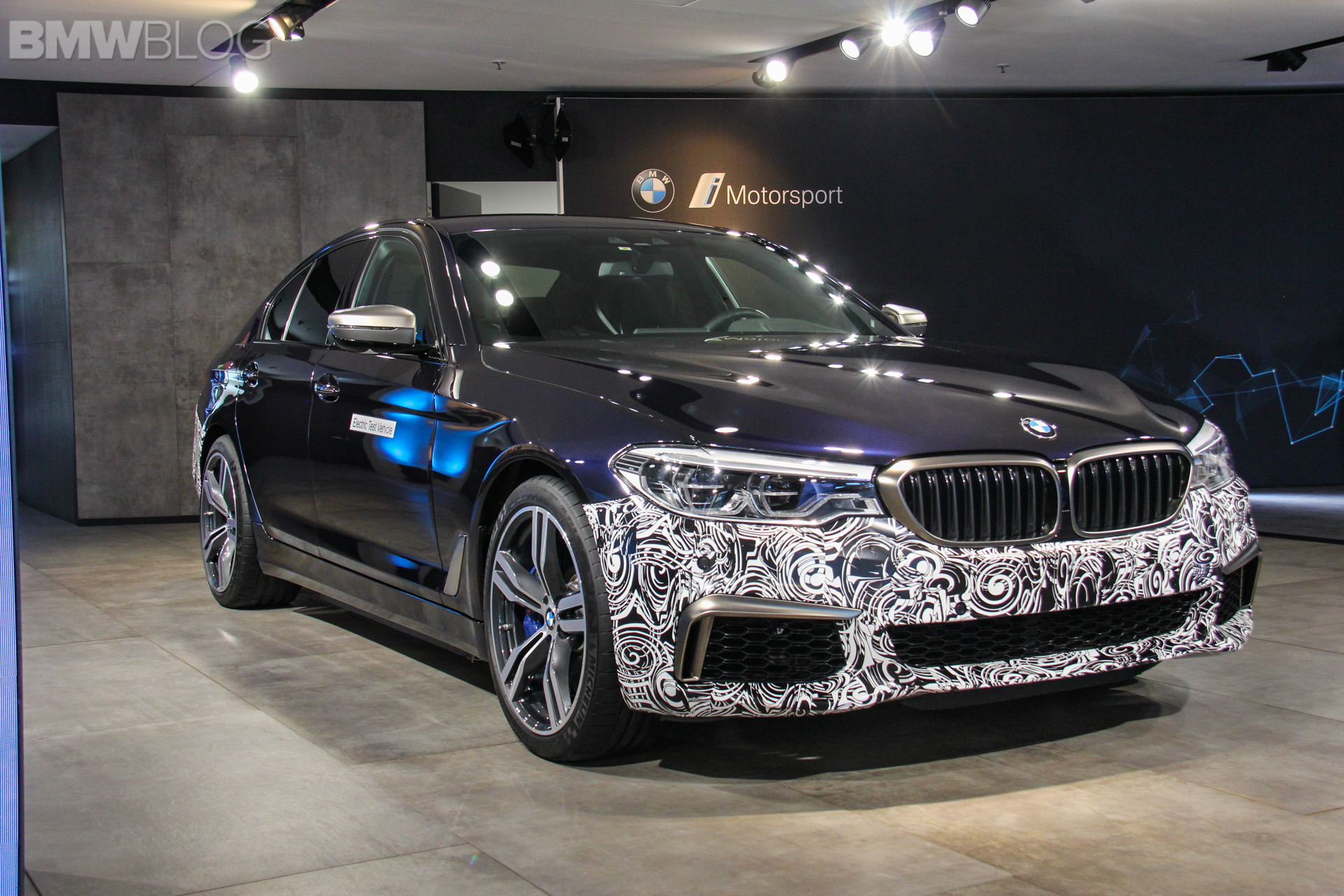 BMW 5 Series BEV 4