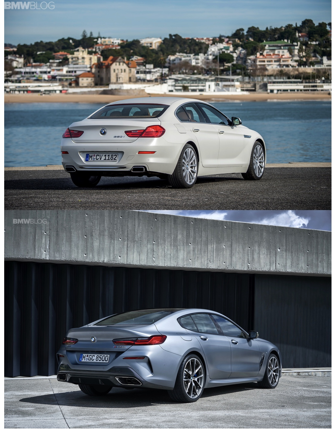 BMW European Delivery >> Photo Comparison: BMW 8 Series Gran Coupe vs BMW 6 Series ...