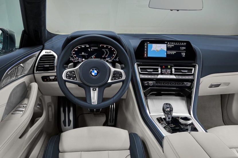 BMW 8 Series Gran Coupe interior 01 830x553