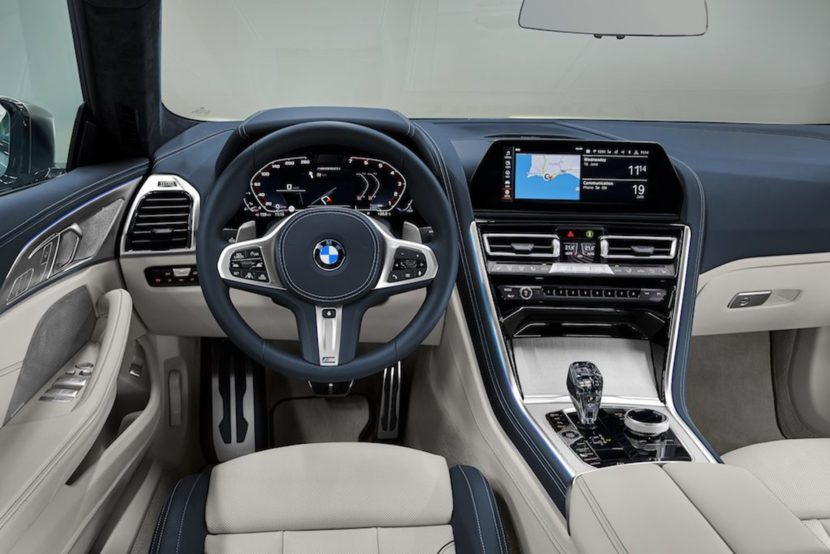 BMW 8 Series Gran Coupe interior 01 830x554