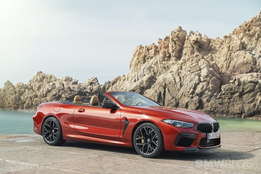BMW M8 CONVERTIBLE EXTERIOR design 19 830x553