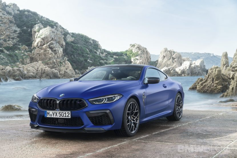 BMW M8 Coupe And Convertible Configurators Live On BMW Switzerland