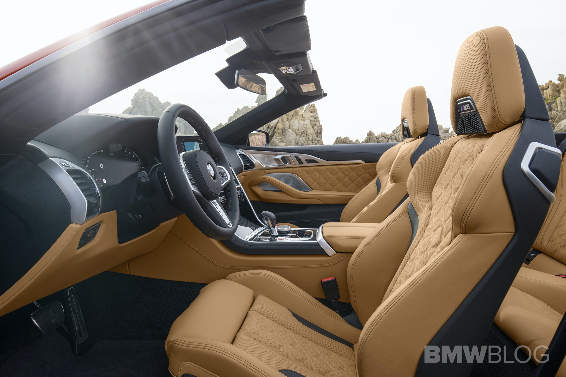 BMW M8 Convertible INTERIOR design 15