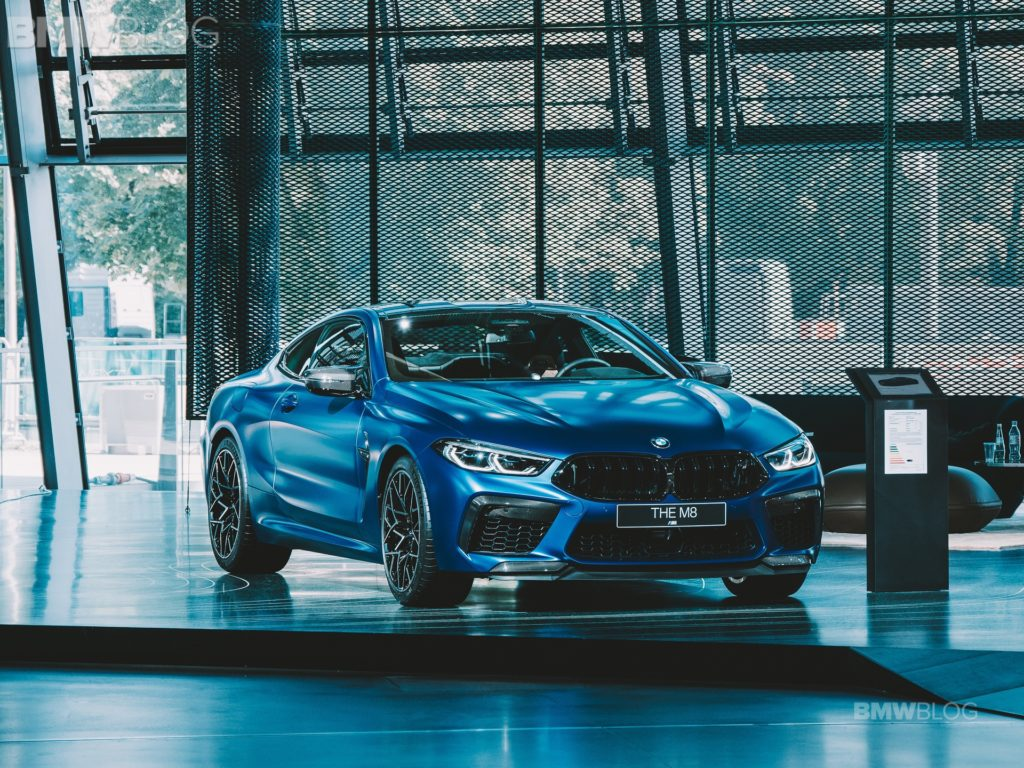 BMW European Delivery >> Live Photos from #NEXTGen19: BMW M8 Coupe and Convertible