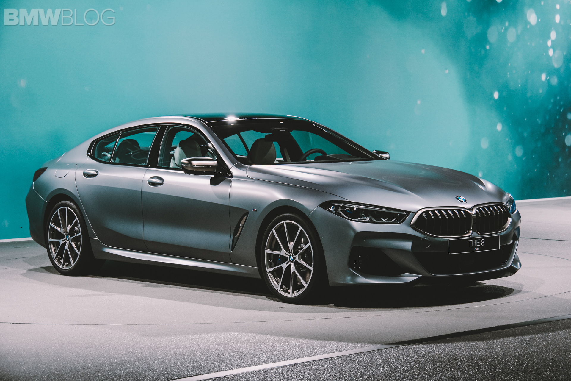 First live photos of the BMW 8 Series Gran Coupe