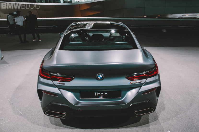 BMW M850i Gran Coupe live photos 18 830x553
