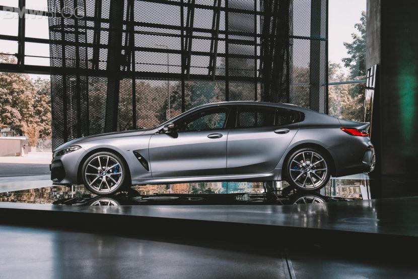 BMW M850i Gran Coupe live photos 23 830x553