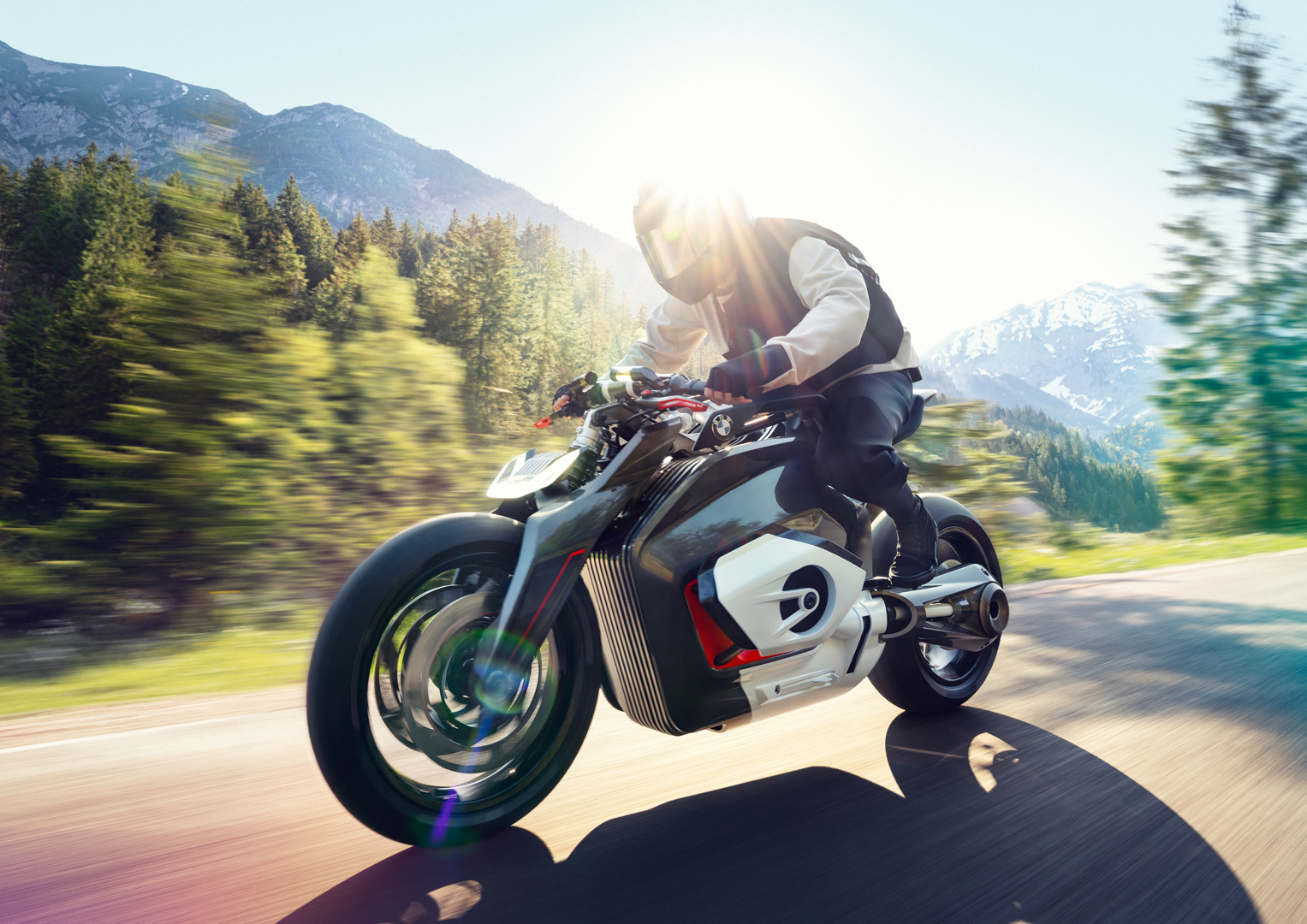 BMW could be going all frameless for its future electric motorbike