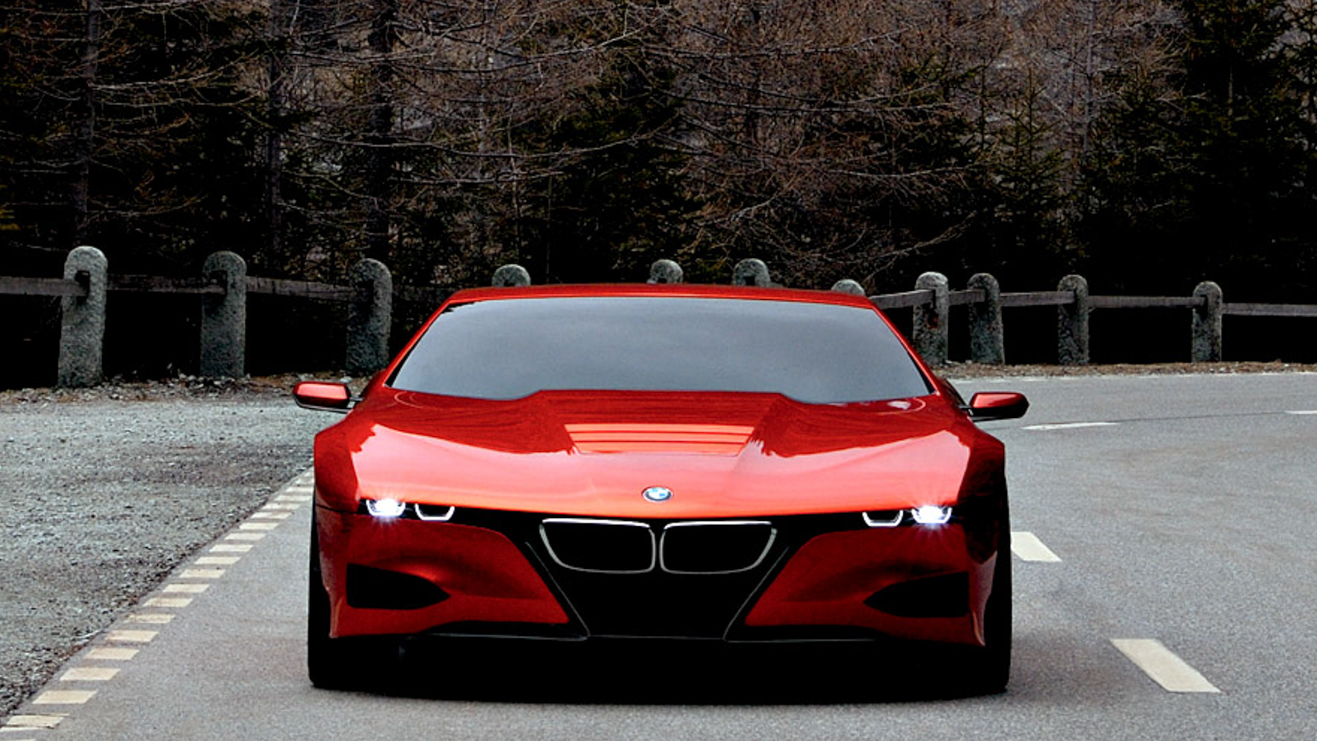 BMW Vision M NEXT vs BMW M1 Hommage 4 of 8