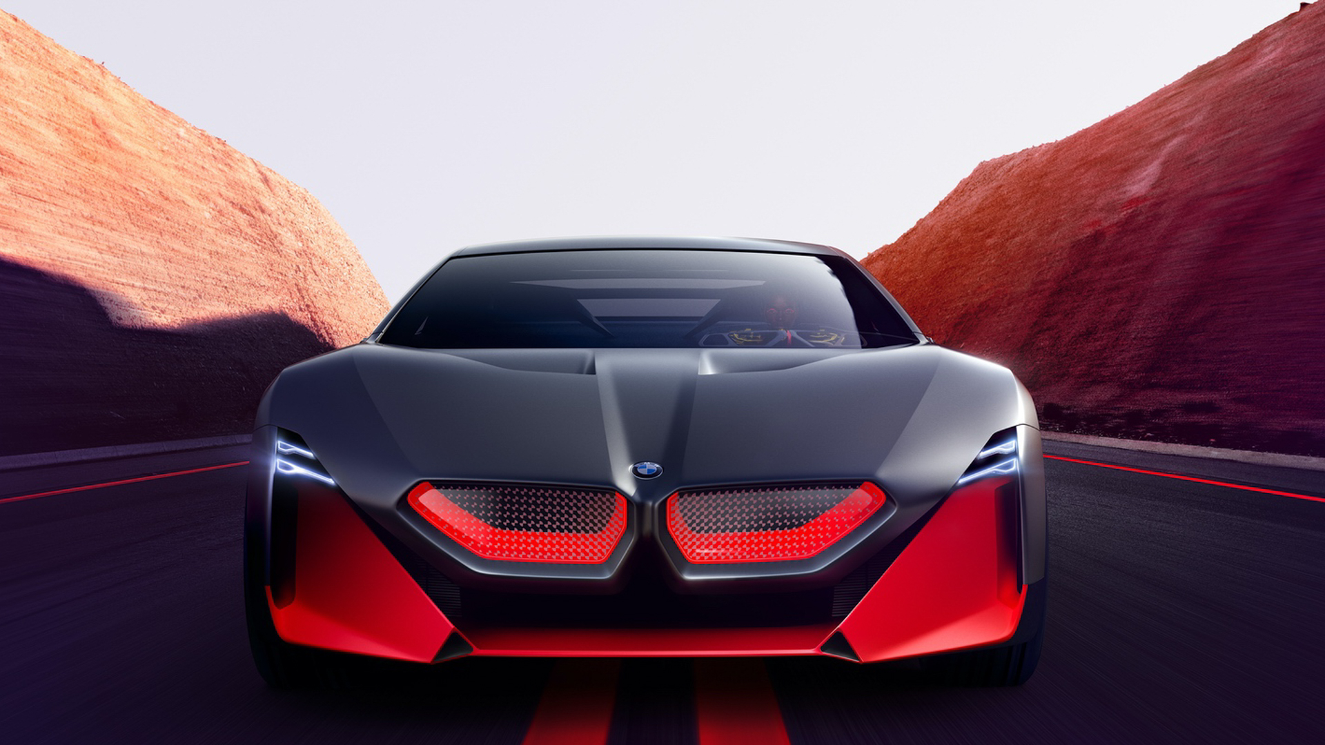 BMW Vision M NEXT vs BMW M1 Hommage 5 of 8