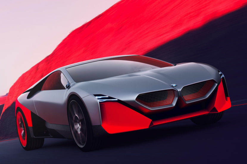BMW Vision M NEXT vs BMW i8 7 of 10 830x553