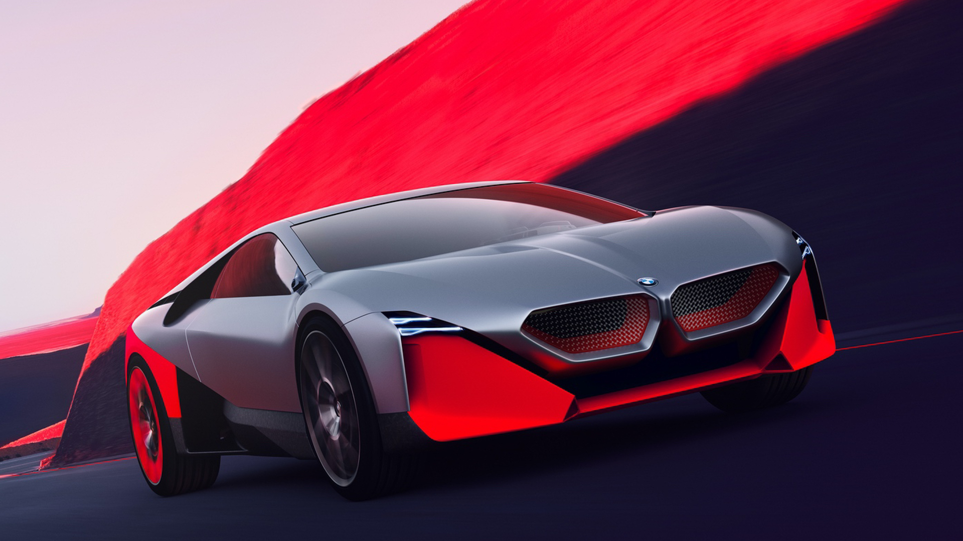 BMW Vision M NEXT vs BMW i8 7 of 10