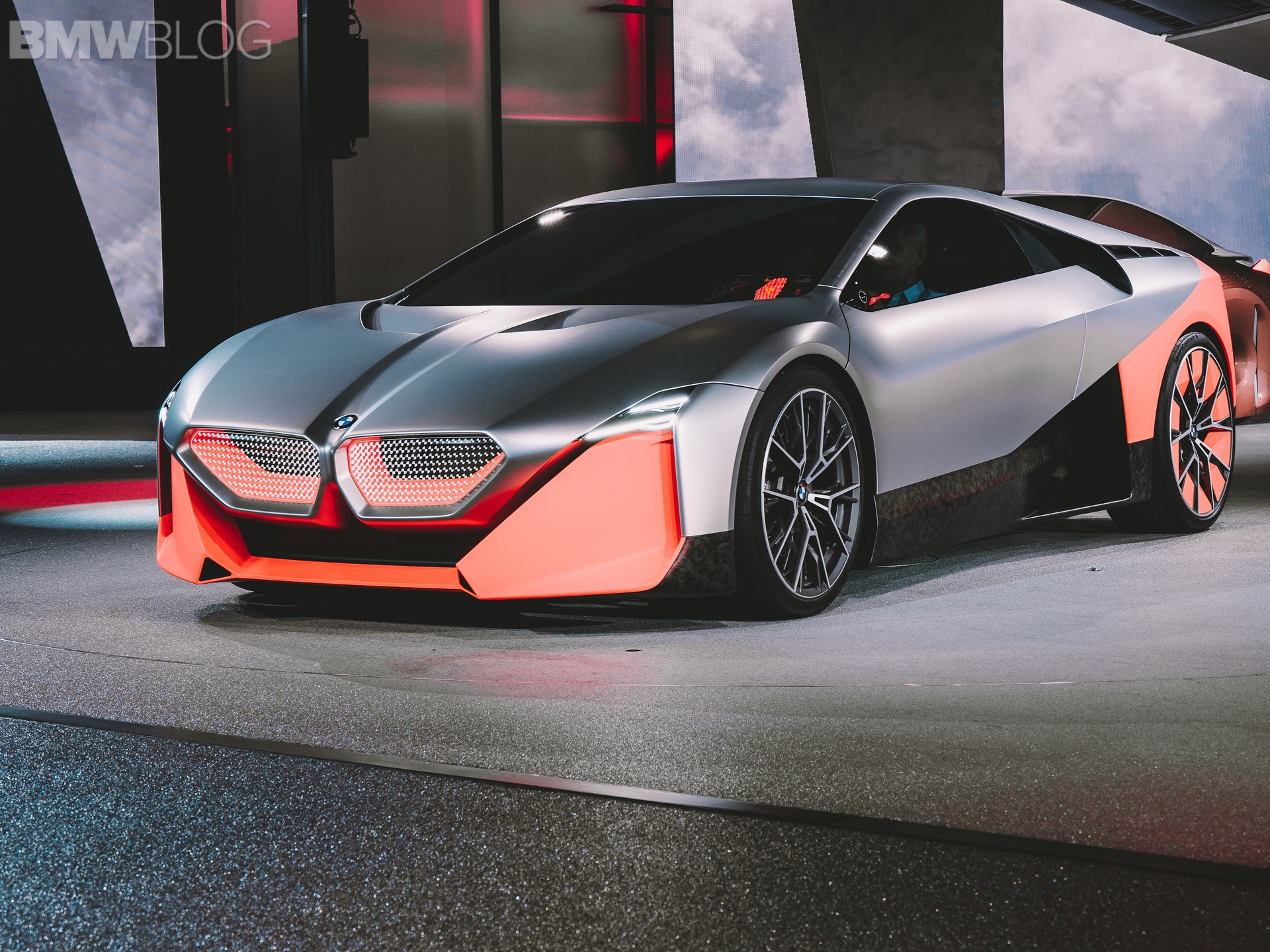 BMW European Delivery >> Photo Comparison: BMW Vision M NEXT vs BMW i8