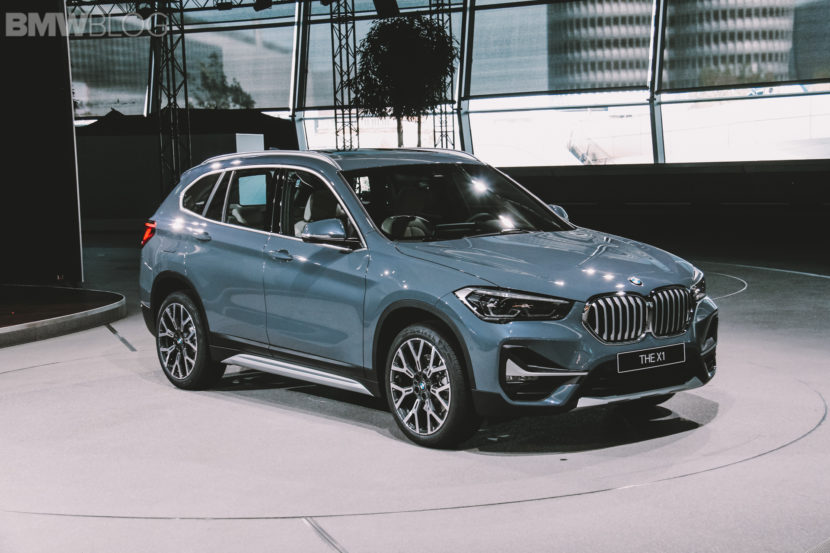 BMW X1 Facelift live photos 2 830x553