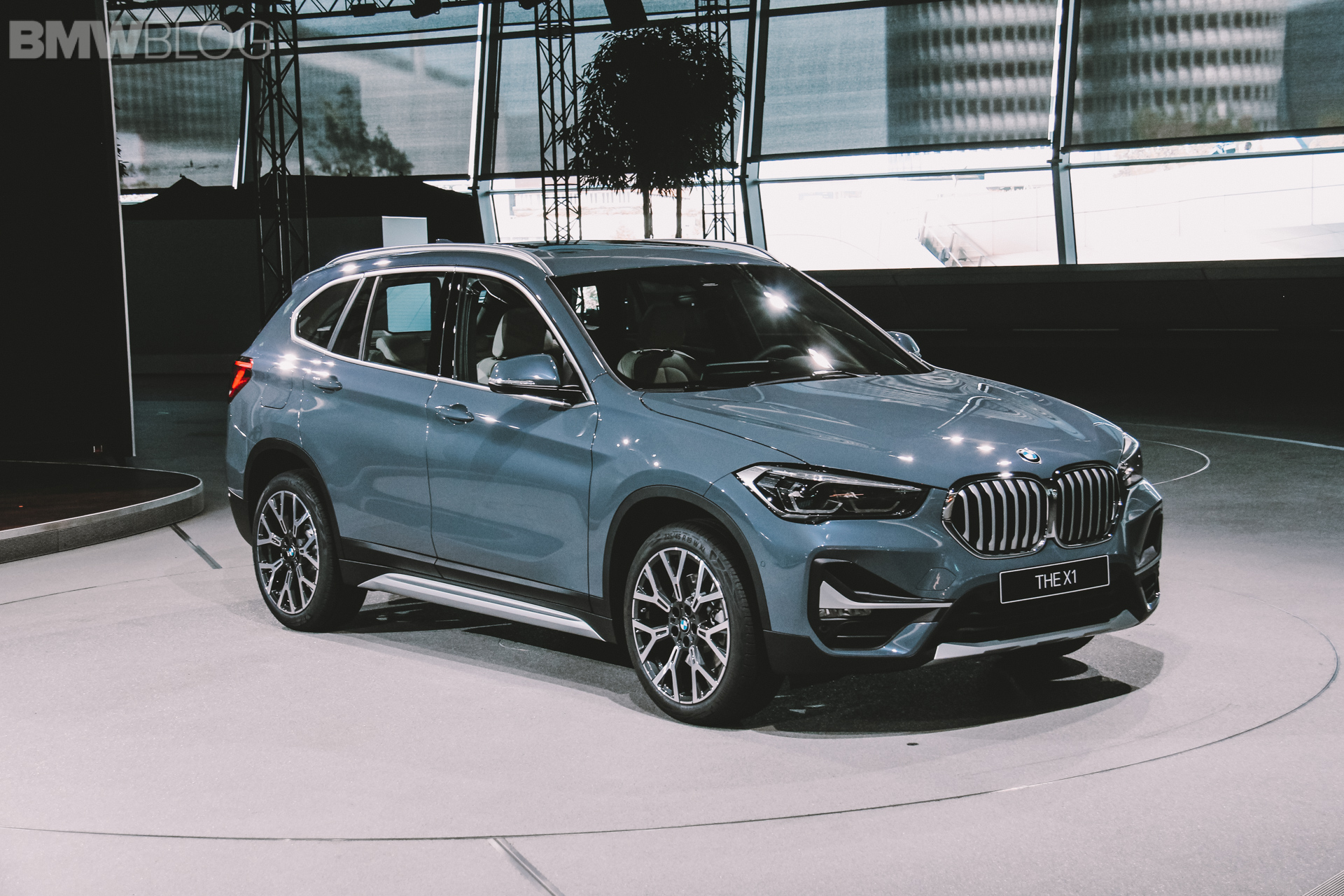 BMW X1 Facelift live photos 2