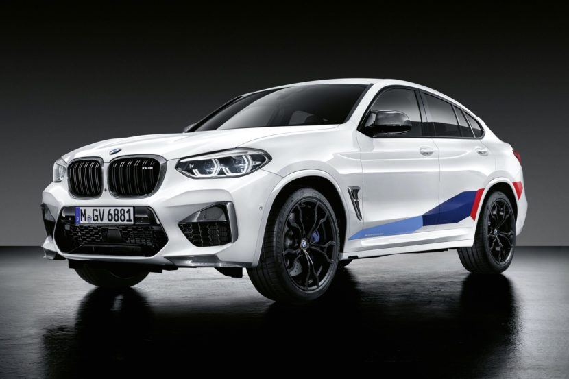 BMW X3 M M X4 M Performance Parts 03 830x553