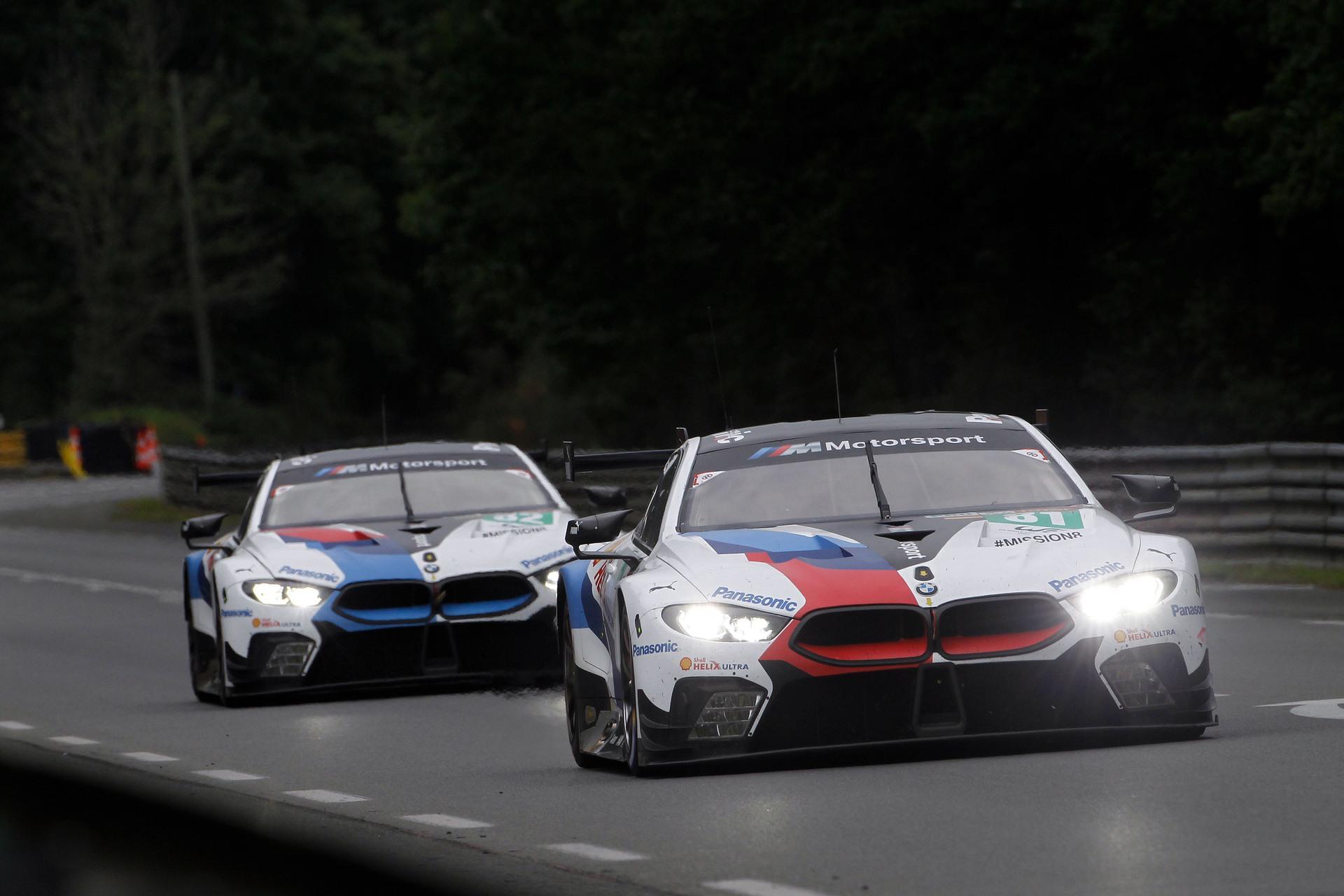 Le Mans BMW M8 GTE 02