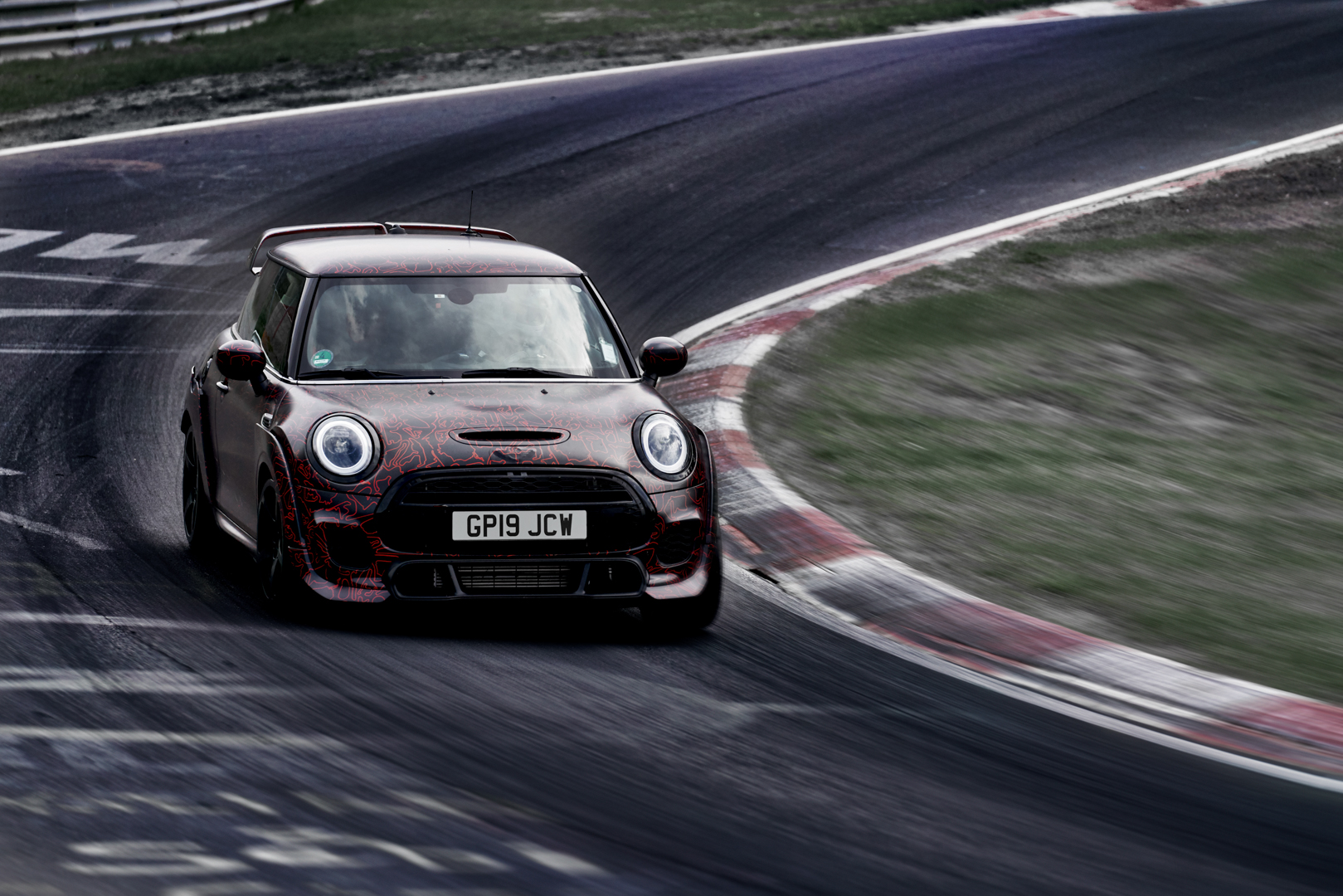 MINI JCW GP F56 laps the Nordschleife in 7:56:69 minutes