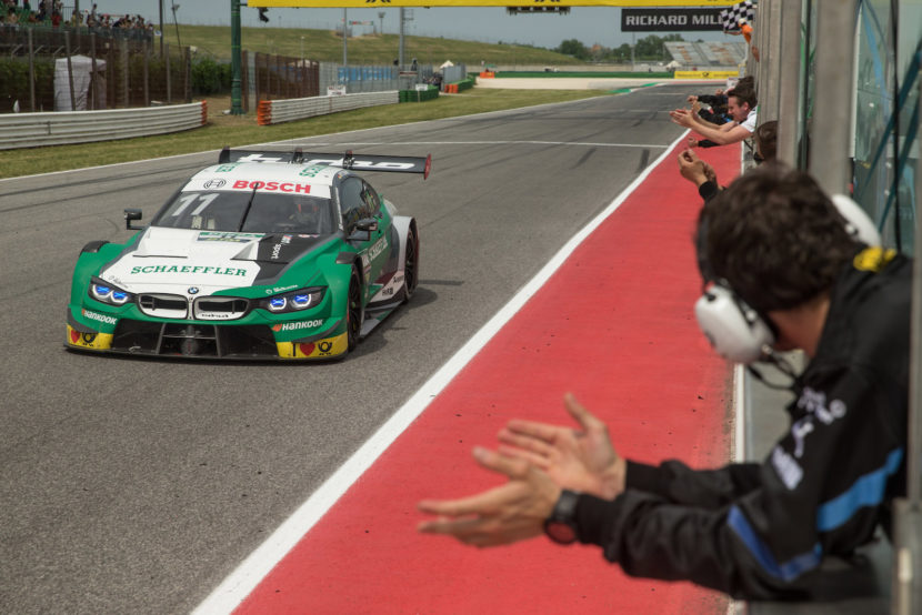 DTM Marco Wittmann Wins At Misano From Last Place On The Grid