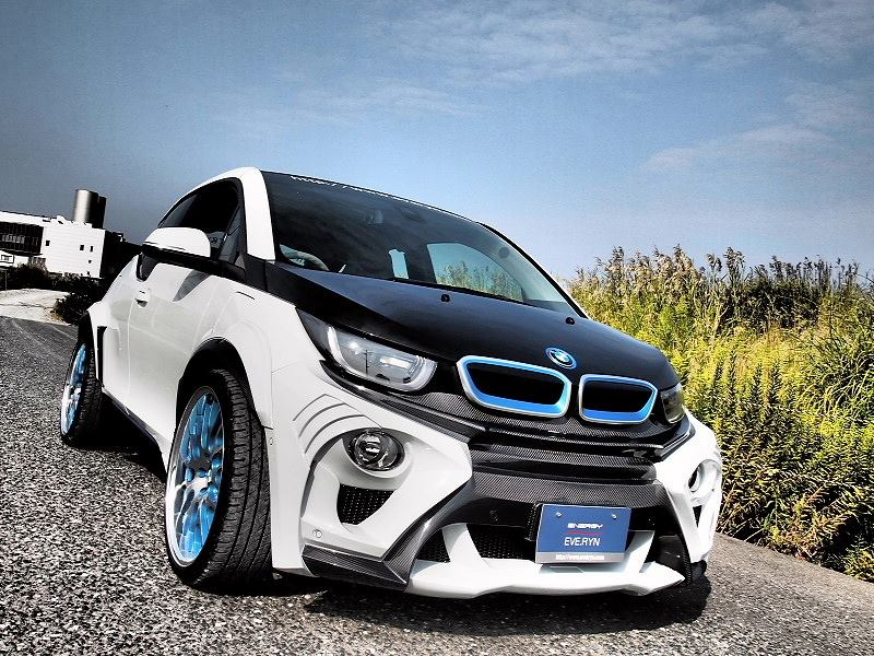 widebody bmw i3 evo tuning from japan looks like a fish 135217 1