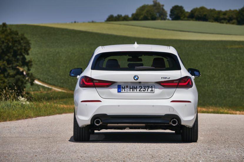 2019 BMW 118d xDrive test drive 42 830x553