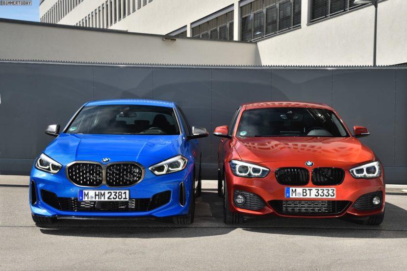 2019 BMW 1er F40 vs 1er F20 M Sport 03 830x553