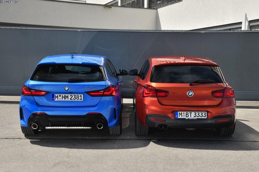 2019 BMW 1er F40 vs 1er F20 M Sport 04 830x553