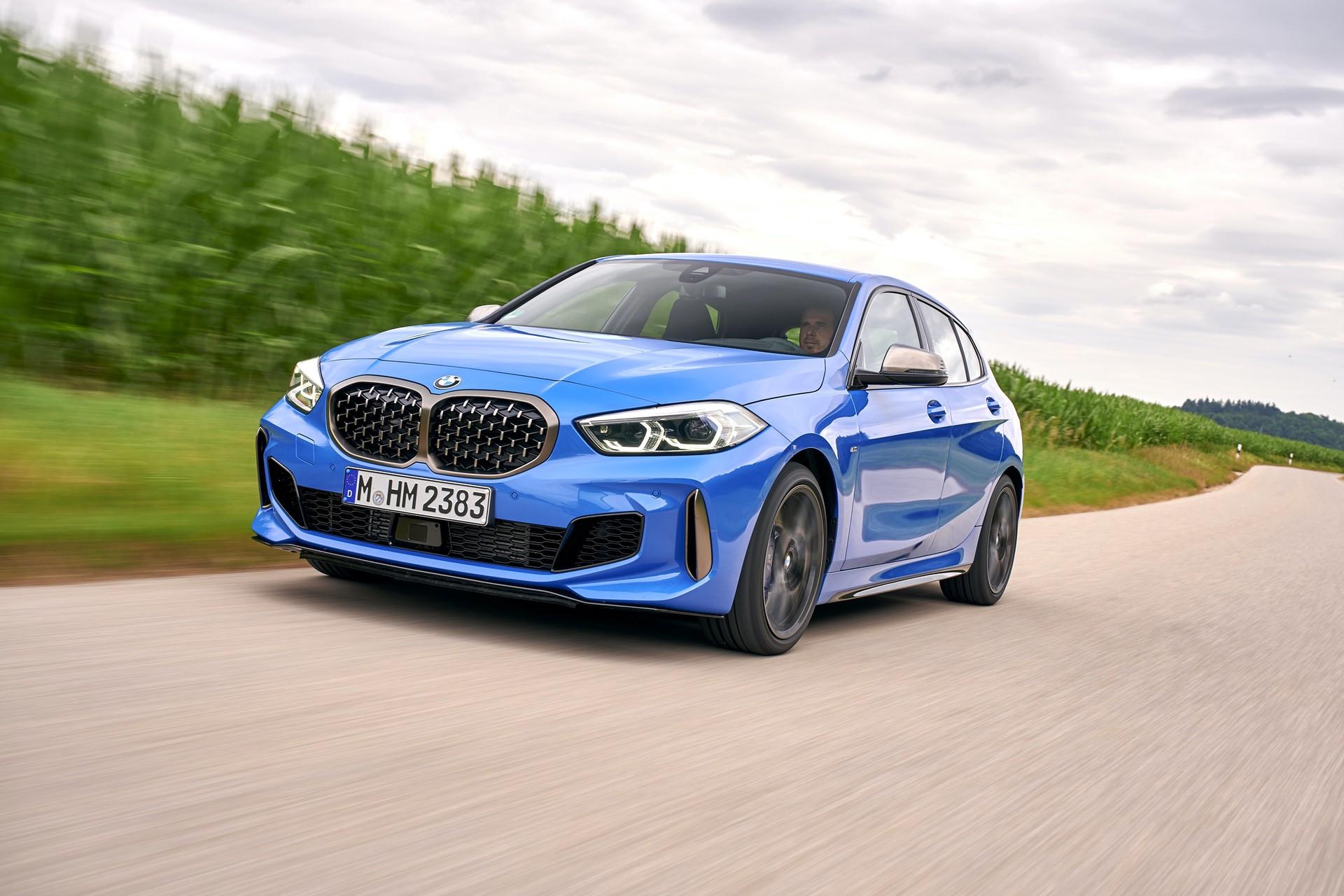 2019 BMW M135i xDrive test drive 04