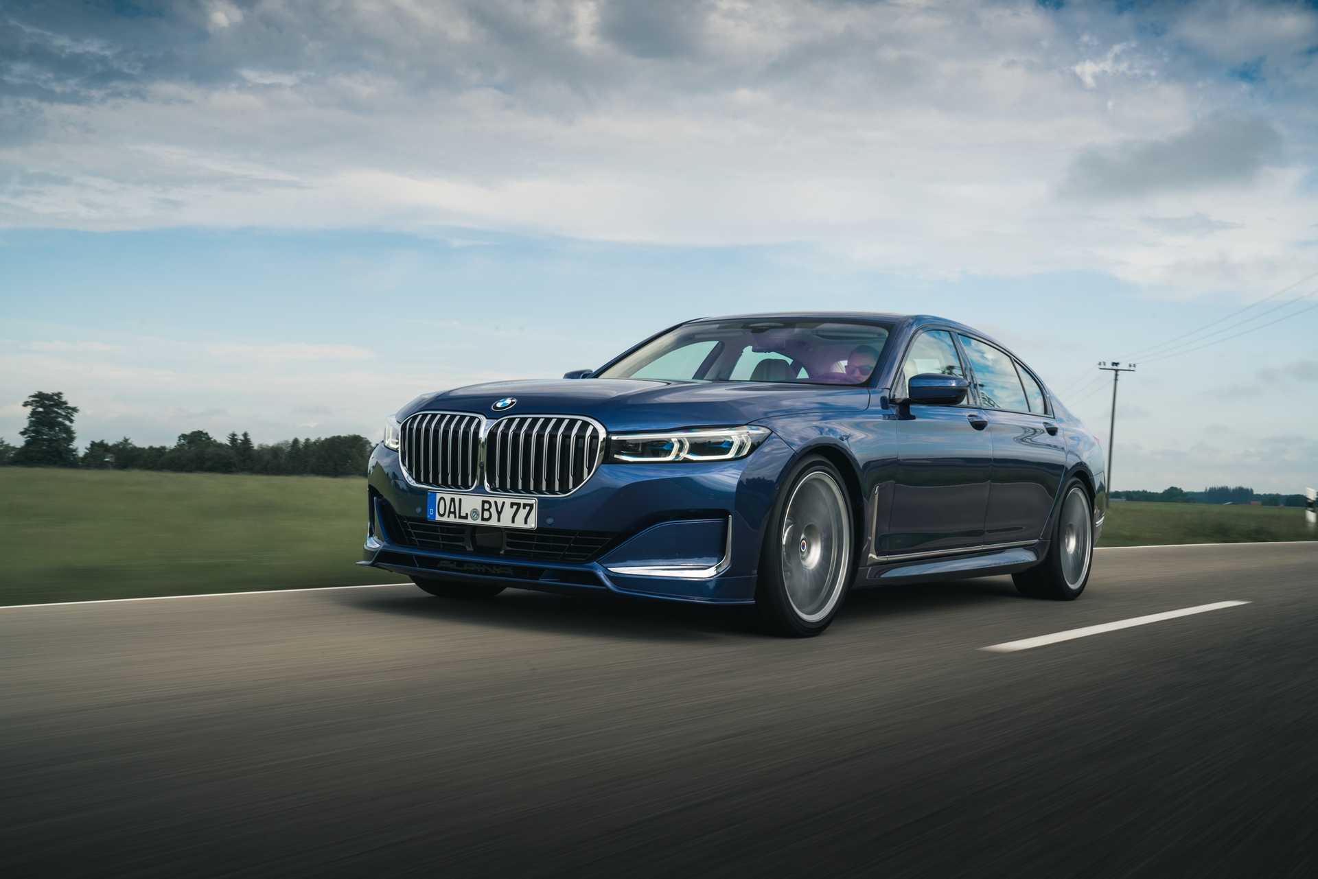 2020 ALPINA B7 xDrive test drive 07