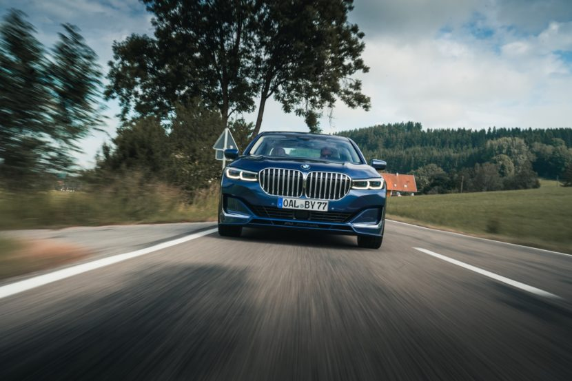 2020 ALPINA B7 xDrive test drive 17 830x553