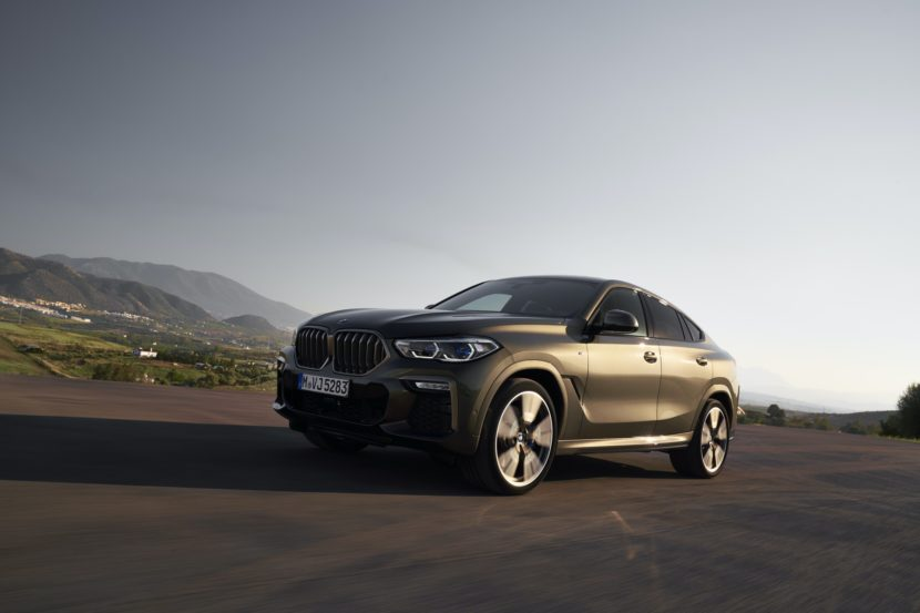 2020 BMW X6 action shots 14 830x553