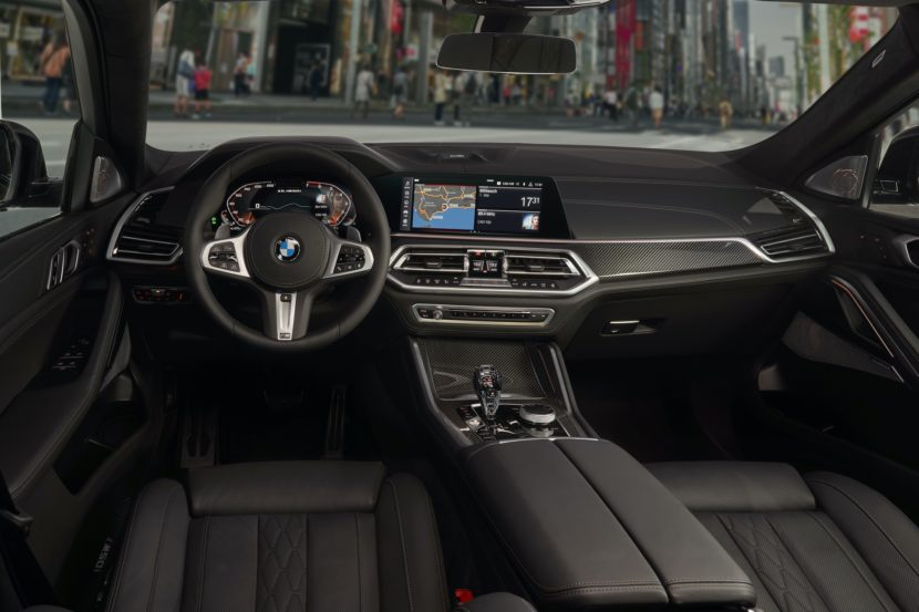 Range Rover Interior >> WORLD PREMIERE: The All-New BMW X6 G06 -- As Polarizing As ...
